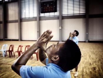 老挝的藤球运动03