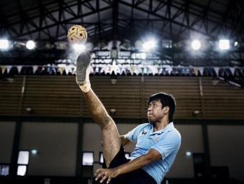 老挝的藤球运动05