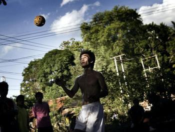 老挝的藤球运动09