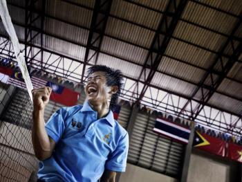 老挝的藤球运动12
