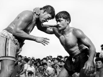 孟加拉传统摔跤01