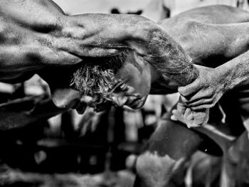 孟加拉传统摔跤02
