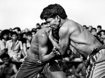 孟加拉传统摔跤03