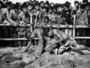 孟加拉传统摔跤05