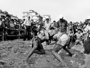 孟加拉传统摔跤07