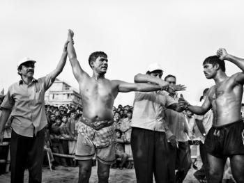 孟加拉传统摔跤11