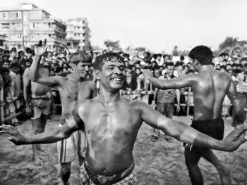 孟加拉传统摔跤12