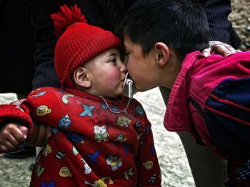 塔吉克人的亲吻礼仪06