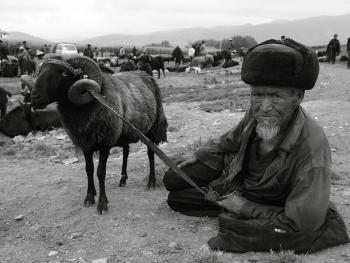 牲畜市场上的彝族人03