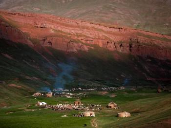 玉其塔什的柯尔克孜族游牧生活