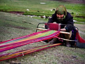 玉其塔什的柯尔克孜族游牧生活05