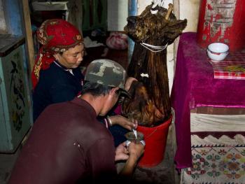 玉其塔什的柯尔克孜族游牧生活06