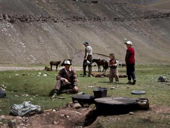 玉其塔什的柯尔克孜族游牧生活08