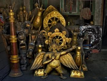 藏传佛教铜器用品的制作12