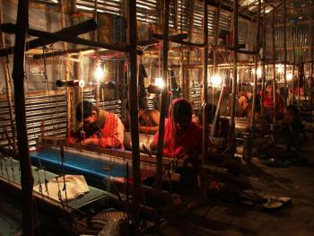 孟加拉细棉布织物