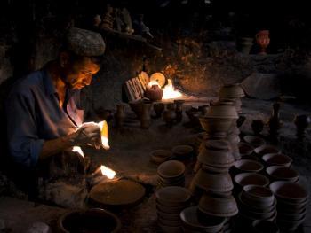 即将消失的维吾尔族土陶05
