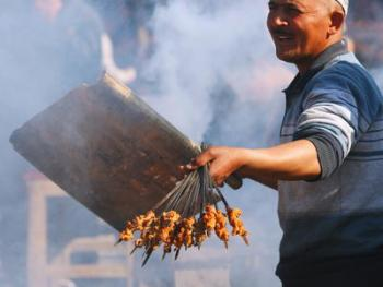 维吾尔族特色饮食01