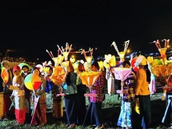 缅甸灯节07