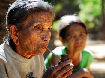 HPA7AD-2160-钦族妇女的纹面06