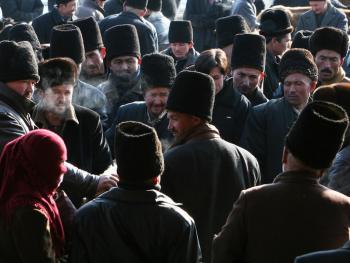 维吾尔族的花帽11