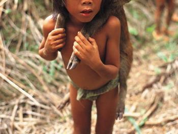 印度尼西亚丛林里的孩子05