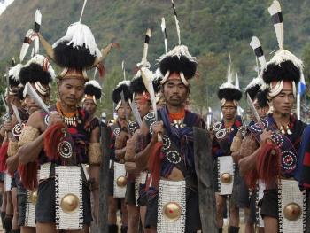 那加兰邦的犀鸟节