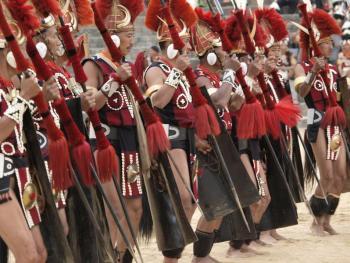 那加兰邦的犀鸟节03