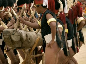 那加兰邦的犀鸟节07