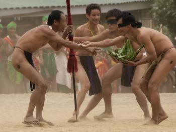 那加兰邦的犀鸟节09
