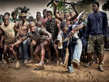 塞内加尔摔跤04