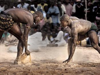 塞内加尔摔跤05