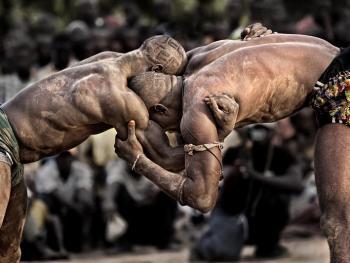 塞内加尔摔跤08