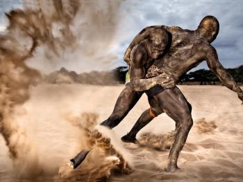 塞内加尔摔跤09