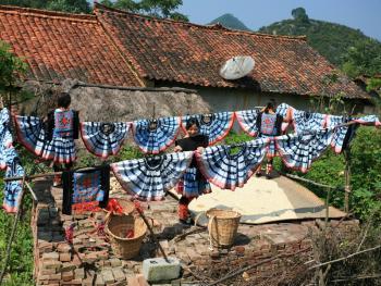 白裤瑶传统服饰制作