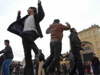 喀什老城中的维吾尔人11