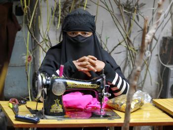 喀什老城中的维吾尔人02
