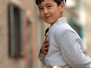 喀什老城中的维吾尔人05