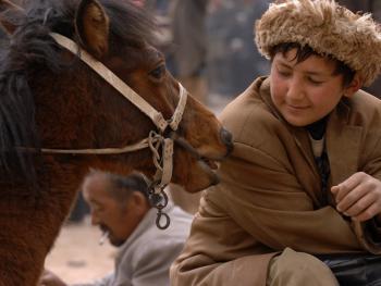 喀什老城中的维吾尔人07