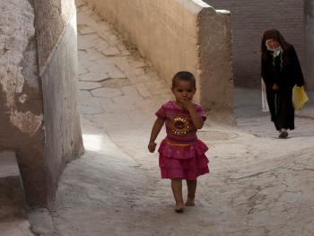 喀什老城中的维吾尔人08