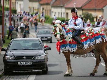 捷克小镇上的国王游行11