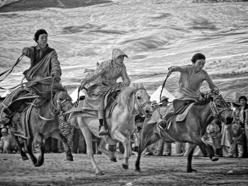 康区的藏族人