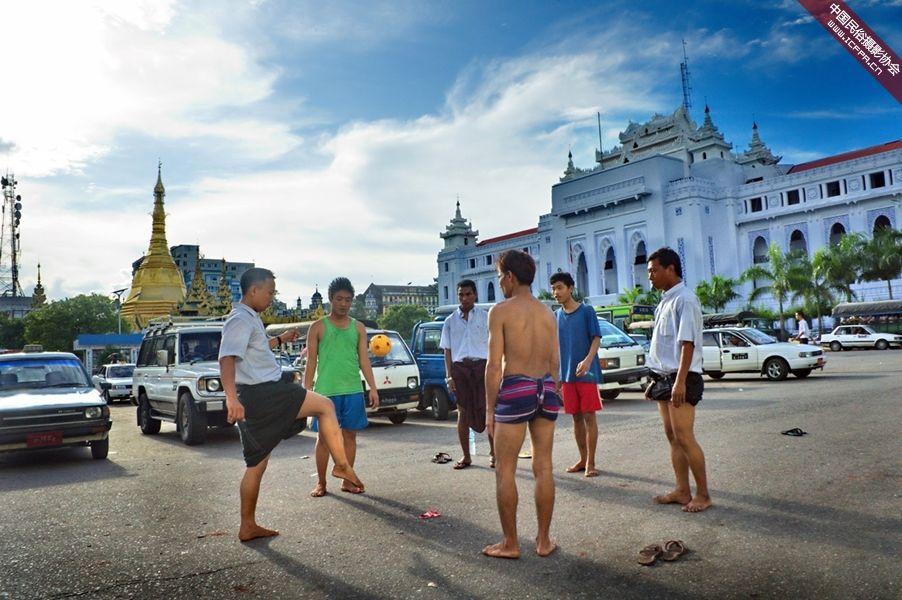 摄影 运动/缅甸人最喜爱的运动09