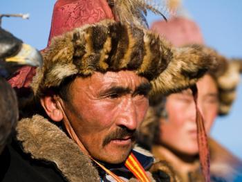 蒙古哈萨克人猎鹰者06