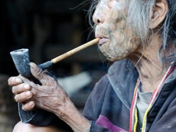 抽烟管儿的人08