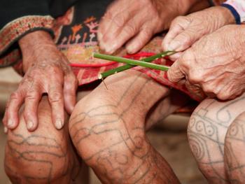 黎族妇女的纹身8