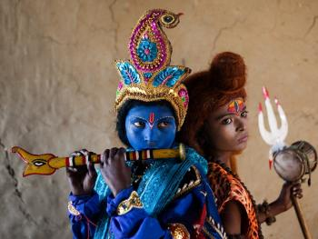 印度神灵扮演者10