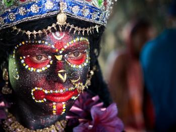 印度神灵扮演者11
