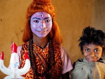 印度神灵扮演者12