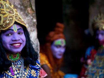 印度神灵扮演者13
