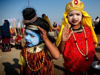 印度神灵扮演者14